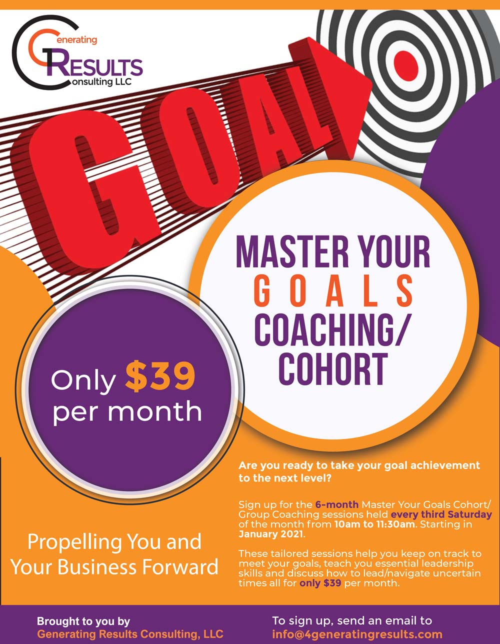 Master Your Goals Coaching/Cohort